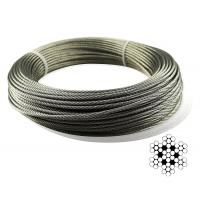 Buy cheap Aircraft Stainless Steel Wire Rope Cable For Railing / Decking / DIY Balustrade product