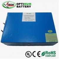 Buy cheap 12v 40ah Lithium Car Battery , Wind Energy System Lifepo4 Cell product