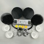 Buy cheap 200 Watt Cree LED Grow Lights , LED Grow Light Kits With D100mm Glass Lens product
