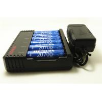 Buy cheap 18650 26650 3.7 V Li Ion Battery Charger 6 * 20700 Battery With Charger 405g Weight product