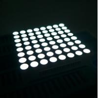 Buy cheap Message Board 8x8 Dot Matrix LED Display High Brightness for Video product