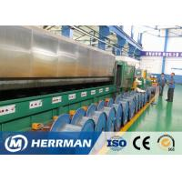Individual Motor Control Wire Drawing Line , Wire Processing Machine 360KVA for sale