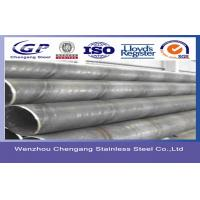 Buy cheap JIS G3448 / DIN17456 / DIN17458309S Gas Welded Stainless Steel Pipe Cold Drawn 0Cr23Ni13 product