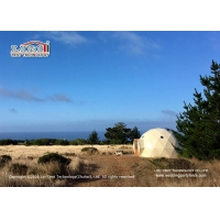 Buy cheap 6m Luxury Glamping Tent Geodesic Dome Glamping Tent For Outdoor Hotel Reception product