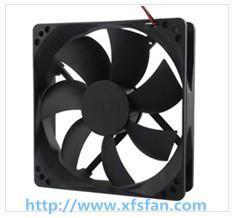 Buy cheap ventilateur sans brosse en plastique DC12025 de noir de C.C de 120*120*25mm pour la lumière menée product