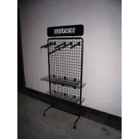 Buy cheap Single Side 4 Tier Peg Hook Display Rack Shop Store Display Shelving product