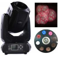 Buy cheap 200W 3 In 1 LED Zoom Moving Head Light 3 Facet Prism And 2 Gobo Wheels product