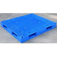 Eco Friendly HDPE Plastic Pallets / Stackable Plastic Pallets With Reinforced Rims