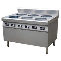Buy cheap 21 kw induktionspis 6 plattor 6*3.5KW Commercial Induction Cooker Easy Clean Fully Modular from wholesalers