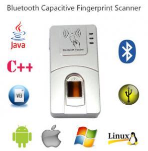Varredor sem fio Handheld da impressão digital da biométrica de HF7000 USB C# Bluetooth Android