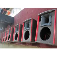"750 Watt Nightclub Speaker Systems Durable With Two 15"" Woofers , SGS CE Listed"