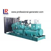 Buy cheap 800kw 1000kVA Self - exciting Brushless Open Diesel Generator Set with Cummins Engine from wholesalers