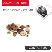 Buy cheap Coconut Buttons Headband for Face Mask 4holes / 2 holes product