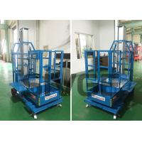 Buy cheap Cargo Picker 2.8m Mast Type Self Propelled Elevating Work Platforms for Warehouse from wholesalers