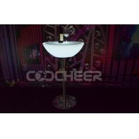 Small and bigger led cocktail table glowing entertainment for Cocktail tables led