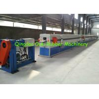China Small EPDM Rubber Extrusion Line 30-40 Cubic Meter For Air Conditioner Insulation Foam Pipe wholesale