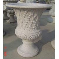 Buy cheap Curved garden decoration stone flower pots  product