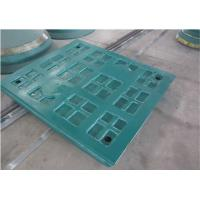 Buy cheap Mining Machinery Rock Crusher Spare Parts Symons Jaw Grid Plate High Performance product