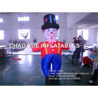 Buy cheap 3 M Inflatable Advertising Products Inflatable Replicas Clown With CE / UL Blower product