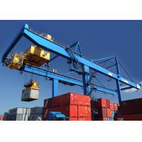 Buy cheap Rail Mounted Shipping Container Crane 50 Ton For Harbor / Containers Stockyard product