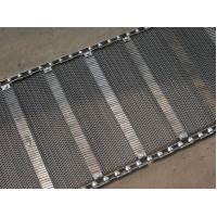 Buy cheap Industrial Stainless Steel Flat Wire Conveyor Belt Exceptionally High Yield Point product