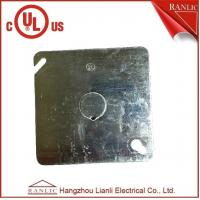Buy cheap Electrical Square Conduit Box Cover UL Listed File Number E349123 With Knockout product