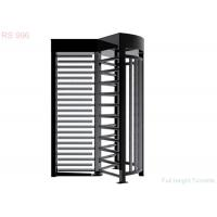 Safety Hotel Full Height Turnstiles Can Be One Way Or Two Way Control Personnel
