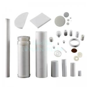Buy cheap 300 micron HD UHMW Powder PE PTFE Porous Plastic Filter product