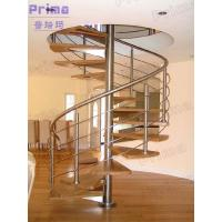 Buy cheap Indoor spiral staircase designed for small spaces product