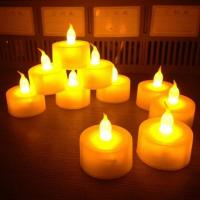 China Battery Operated LED Tealight Candles on sale