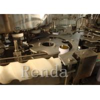 Buy cheap Fully Automatic Carbonated Drink Filling Machine Beverage Bottling Equipment SUS304 product