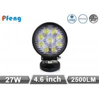 China 4.6 Inch 27W Off Road rechargeable led work light 2500 Lumen Epistar or Cree LED on sale
