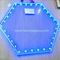 China Tecture luminous LED laminated glass power glass on sale