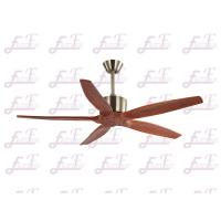 Buy cheap East Fan 52 inch five nature wood blades modern ceiling Fans without light from wholesalers