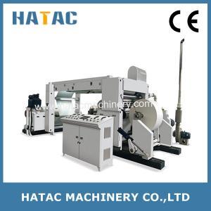 China Round Blade Kraft Paper Slitting Machine,Printed Paper Cutting Machine,Coated Paper Slitting Rewinding Machine on sale