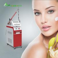Quality 1064 / 532nm q switch Nd Yag laser tatoo removal machine with Korea imported light guide arm for salon clinic use for sale