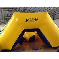 Buy cheap Outdoor Games Inflatable Paintball Bunkers 0.9mm Pvc Tarpaulin 5 X 2.5 X 1.25m product