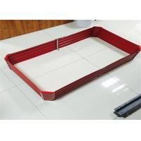 48'' * 48'' Metal Raised Garden Beds Customization For Growing Small Plots