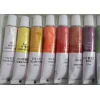 China Colorful Printing Empty Paint Tubes , Collapsible Aluminum Empty Oil Paint Tubes wholesale