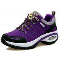 China Sturdy Comfortable Athletic Shoes With Breathable Soles Cushioned Running Trainers on sale