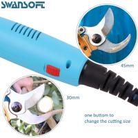 Buy cheap 45mm Apple Tree Electric Pruning Machine Garden Tool Electric Scissors For Cutting product