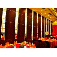 Buy cheap Large Size Movable Sound Proof Walls Plywood Finish High Performance product