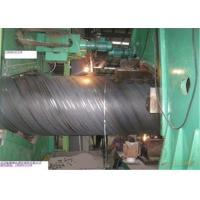 Grade B/X42-X80 Spiral steel pipe with full certifications for export.