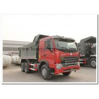 China HOWO A7 6 by 4 Euro 2 Tipper Dump truck front lifting 6 wheel dump truck for Base Rock Topsoil Asphalt on sale