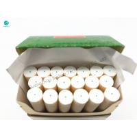 China Thin Soft Mint Green Cotton Thread Rolls Use For Filter Rod And Cigarette Packaging on sale