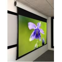 100 Inch Tab Tensioned Motorized Screen Home Theater