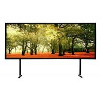 Buy cheap Black Powder Coated Fixed Frame Projector Screen 10 / 15 Cm Frame Size product