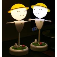 Buy cheap Topshow Creative LED Lovely Touch Sensor Scarecrow Night Light For Kids product