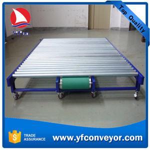 Buy cheap El transportador de rodillo motorizado ancho de alta calidad con la buena carga se aplicó en la industria de papel from wholesalers