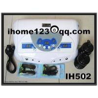 China Ion cleanse,Dual MP3 Cell spa,ionic footspa,detox foot bath IH502 on sale